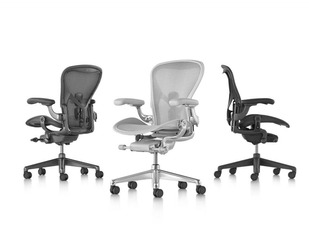 Ergonomiczne Miejsce Pracy - Fotel